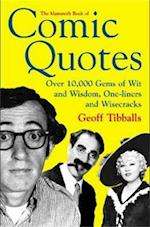 The Mammoth Book of Comic Quotes (Mammoth Books)