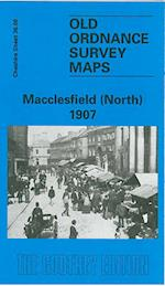 Macclesfield (North) 1907 (Old O.S. Maps of Cheshire)