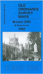 Bristol (SW) & Bedminster 1902 (Old O.S. Maps of Gloucestershire)