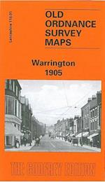 Warrington 1905 (Old O.S. Maps of Lancashire)
