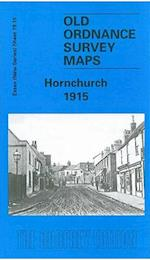 Hornchurch 1915 (Old O.S. Maps of Essex)