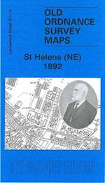 St.Helens (NE) 1892 (Old O.S. Maps of Lancashire)