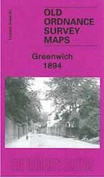 Greenwich 1894 (Old O.S. Maps of London)