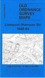 Liverpool (Hanover Street) 1864 (Old O.S. Maps of Liverpool)