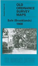 Sale (Brooklands) 1908 (Old O.S. Maps of Cheshire)