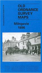 Milngavie 1896 (Old Ordnance Survey Maps of Dumbartonshire)