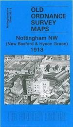 Nottingham NW 1913 (Old Ordnance Survey Maps of Nottinghamshire)