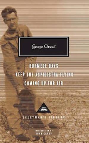 Bog, hardback Burmese Days, Keep the Aspidistra Flying, Coming Up for Air af George Orwell