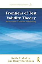 Frontiers of Test Validity Theory (MULTIVARIATE APPLICATIONS SERIES)