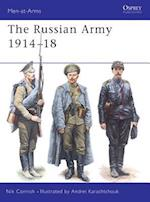 The Russian Army 1914-18 (Men-At-Arms, nr. 364)