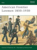 American Frontier Lawmen 1850-1930 (Elite, nr. 96)