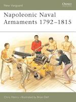 Napoleonic Naval Armaments 1792-1815 af Chris Henry