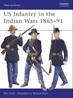 US Infantry in the Indian Wars 1865-91 (Men-At-Arms Series)