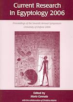 Current Research in Egyptology (Current Research in Egyptology, nr. 7)