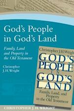 God's People in God's Land (Paternoster Digital Library)