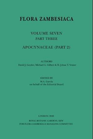 Flora Zambesiaca Volume 7 Part 2: Apocynaceae