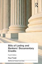 Bills of Lading and Bankers' Documentary Credits (Maritime and Transport Law Library)