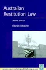 Australian Restitution Law af Sharon Erbacher
