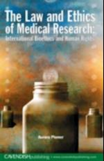 Law and Ethics of Medical Research