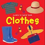 Learn-a-word Book: Clothes af Nicola Tuxworth