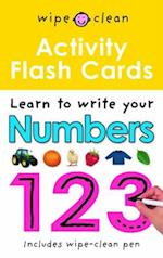 Activity Flash Cards 123 (Wipe Clean)