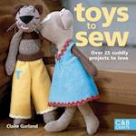 Toys to Sew af Claire Garland
