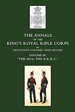 Annals of the King's Royal Rifle Corps af Lewis Butler