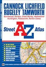 Cannock Street Atlas (A-Z Street Atlas S)
