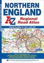 Northern England Regional Road Atlas (A-Z Regional Road Atlas)