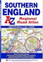 Southern England Regional Road Atlas (A-Z Regional Road Atlas, nr. 4)