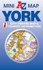 York Mini Map (A-Z Mini Map S)