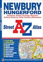 Newbury Street Atlas (A-Z Street Atlas S)