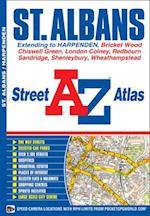 St Albans Street Atlas (London Street Atlases)
