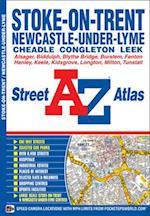 Stoke On Trent Street Atlas (A-Z Street Atlas S)