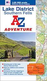 Lake District (Southern Fells) Adventure Atlas (A-Z Adventure Atlas)