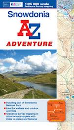 Snowdonia Adventure Atlas (A-Z Adventure Atlas)