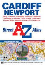 Cardiff & Newport Street Atlas (A-Z Street Atlas S)