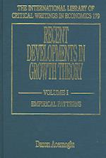 Recent Developments in Growth Theory (The International Library of Critical Writings in Economics Series, nr. 179)