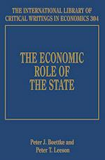 The Economic Role of the State (The International Library of Critical Writings in Economics Series, nr. 304)