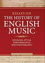 Essays on the History of English Music in Honour of John Caldwell af Emma Hornby
