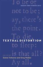 Textual Distortion (ESSAYS AND STUDIES, nr. )