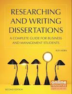 Researching and Writing Dissertations : A Complete Guide for Business and Management Students (UK Higher Education Business Management)