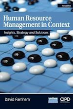 Human Resource Management in Context : Strategy, Insights and Solutions (UK Higher Education Business Management)