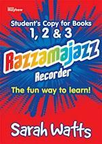 Razzamajazz Recorder Books 1,2,3
