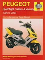 Peugeot Speedfight, Trekker (TKR) and Vivacity Service and Repair Manual (Haynes Service and Repair Manuals)