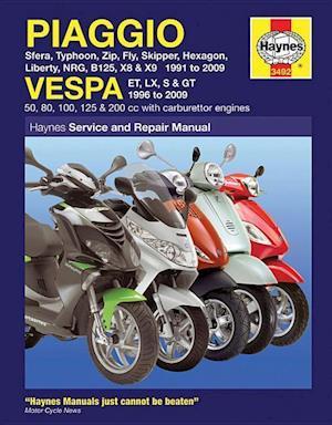 Piaggio (Vespa) Scooters (91 - 09)