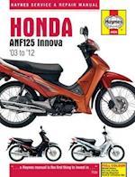 Honda ANF125 Innova Service and Repair Manual (Haynes Service and Repair Manuals)