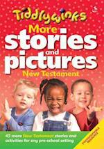 More Stories & Pictures New Testament (Red) (Tiddlywinks)