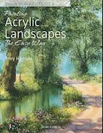 Painting Acrylic Landscapes the Easy Way af Terry Harrison