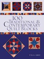 100 Traditional and Contemporary Quilt Blocks af Celia Eddy